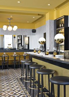 The most exclusive bar & restaurant design ideas | www.barstoolsfurniture.com