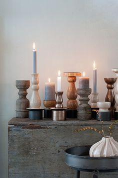 i really do love candeliers! casa vivante, kandelaars in hout, keramiek en aluminium