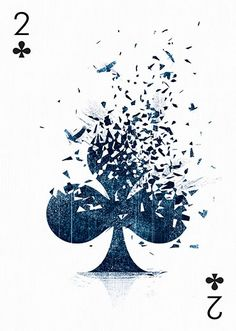 2 of Clubs by Tang Yau Hoong