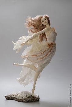 Купить Танцующие с ветром. Бриз - авторская ручная работа, авторская кукла, художественная кукла
