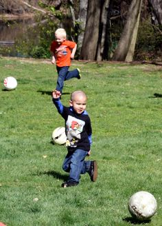 Soccer is a great sport that's fun for all ages!