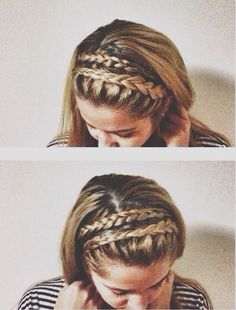 Cute! If only I knew how to French braid