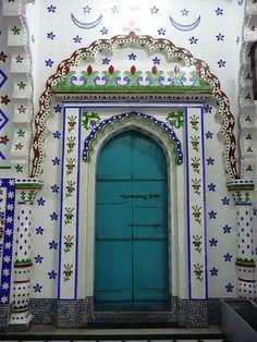 Mosque door, Dhaka, Bangladesh