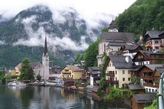 Hallstatt, Austria is a UNESCO World Heritage site and an inspiration for…