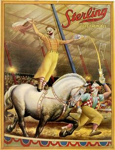 Circus Horses, Come And See, Wonderful Horses www.horse Circus Show Horses Old Circus, Vintage Circus Posters, Carnival Posters, Retro Poster, Circus Art, Circus Theme, Circus Train, Circus Clown, Vintage Carnival