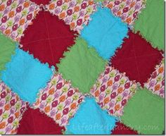 My tip for the day - Wash and dry 1st time at laundrymat! Sew Better: Rag Quilt Tips