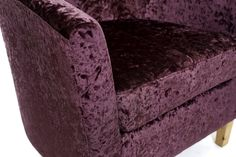 http://www.bonsoni.com/turin-grape-crushed-velvet-tub-chair-set-by-sherman  Turin Grape Crushed Velvet Tub Chair Set by Sherman is Our classic Tub chair and matching stool is now available with the romance and allure of a sumptuous crushed velvet fabric.  http://www.bonsoni.com/turin-grape-crushed-velvet-tub-chair-set-by-sherman