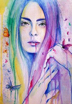 Traditional Illustrations by Veronika Vajdova http://www.cruzine.com/2013/10/15/traditional-illustrations-veronika-vajdova/