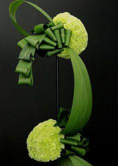 abstract floral art; unique floral design