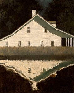 Meadow Garden,       2008-10 Oil on canvas 30 x 24 inchesby Edward Rice