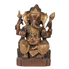 Brass Statue - Ganesh Brass Statues, Marigold, Ganesh, Lion Sculpture, Culture, Indian, Art, Art Background, Kunst