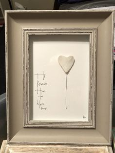He knows how to bless me - heart rock art by ArtSea Heart, Debbie Derrick Sea Glass Crafts, Sea Glass Art, Heart Shaped Rocks, Organic Art, Rock Decor, Kiesel, Driftwood Art, Rock Crafts, Beach Art