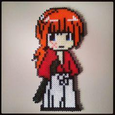 Rurouni Kenshin hama perler beads by ed_mon_d