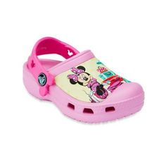 Creative Crocs Minnie™ Jet Set Kids' Clog in Pink - buybuyBaby.com #baby #babies #kids #shoes #buybuybaby