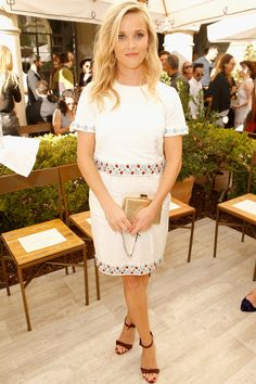 Reese Witherspoon saves indulgent foods for special occasions.