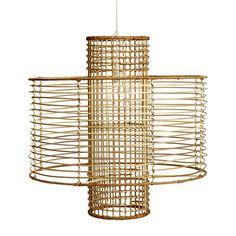 Rattan Moderne Hanging Pendant (491563221), Rustic Lighting, Chandeliers, Modern…