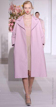 Jil Sander's perfect shade of lilac.