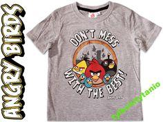 9aebfd18840693 Angry Birds 10 lat hm NOWY t-shirt 140 cm - 5587427038 - oficjalne archiwum  allegro