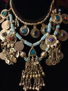 Kuchi necklace combination.