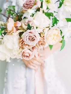 Lilac + Peach Make an Unbelievably Pretty Color Palette | Photography: Sally Pinera