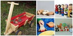 Brinquedos de Madeira para Crianças