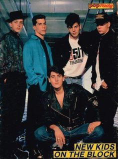 Jonathan Knight, Joey Mcintyre, Donnie Wahlberg, Jordan Knight, Five Guys, Block Party, Band Posters, New Kids, Retro