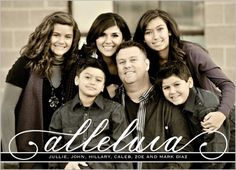 Alleluia Religious Christmas Card by Petite Lemon | Shutterfly
