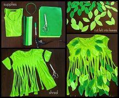 disfraz de hada diy - camiseta hada o duende del bosque