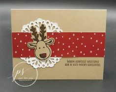 Stampin' Up! Cookie Cutter Christmas - DDStamps with Diane Dimich, Stampin' Up! Christmas Cookie Cutters, Christmas Cookies, Christmas Cards, Christmas 2016, Stampin Up Cookie Cutter, Collage, Ink Stamps, Animal Cards, Winter Cards