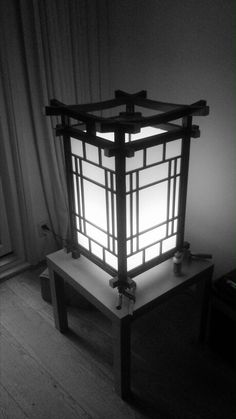 Japanese lamp, almost finished.. Japanse lamp, voorlopig resultaat