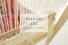 Learn the basics of loom weaving and where you can find supplies to get started.