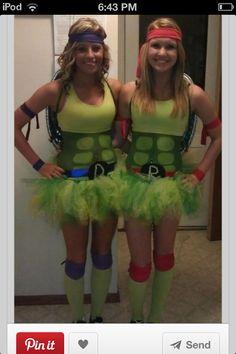 Teenage mutan ninja turtle costume #supercute