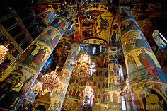 Russia  Moscow  Kremlin  Church of the Ascension  Frescos and Icons (1903-5669 / flp-russia-1601 © Frans Lemmens)