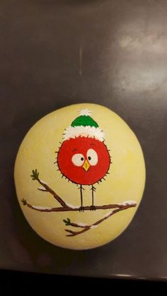 Fun and Easy DIY Christmas Crafts for Kids to Make – Painted Rocks Pebble Painting, Pebble Art, Stone Painting, Diy Painting, Rock Painting Ideas Easy, Rock Painting Designs, Paint Designs, Stone Crafts, Rock Crafts