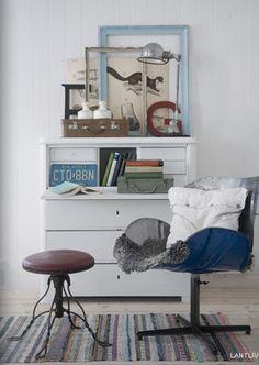 EN MI ESPACIO VITAL: Muebles Recuperados y Decoración Vintage: Decoración / decoración