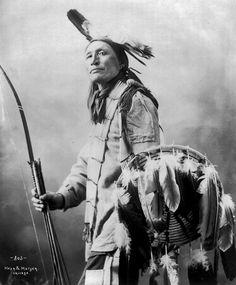 Plenty Wounded. Lakota. ca. 1900. Photo by Heyn & Matzen. Source - Library of Congress.