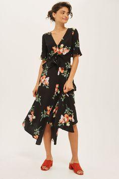 Floral Print Handkerchief Hem Skirt - July Edit Summer Dressing - We Love - Topshop Europe
