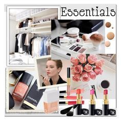 """Makeup Bag Staples"" by dezaval ❤ liked on Polyvore featuring beauty, PINCEAU, Chanel, Lumière, contestentry, PVStyleInsiderContest and makeupbagstaples"
