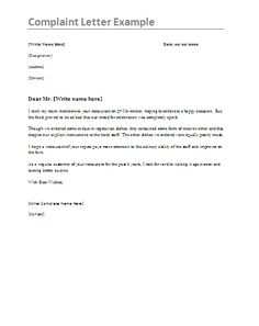 Complaint Letter Model Interesting 10 Sponsorship Letter Samples  Word Excel & Pdf Templates  Www .