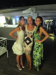 Fashionshow on the Glamour Beach Bagni Andrea