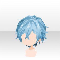 Drawing Hairstyles For Your Characters - Drawing On Demand Anime Boy Hair, Manga Hair, Kawaii Chibi, Cute Chibi, Character Inspiration, Hair Inspiration, Character Design, Pelo Anime, Manga Anime