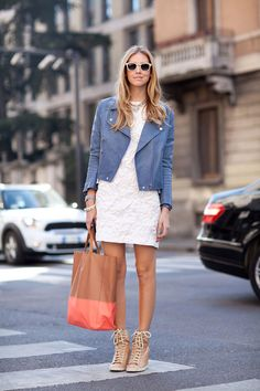 Milan Fashion Week Fall 2012 : Street Style - Chiarra Ferragani <3