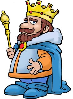 Mean king clipart – www