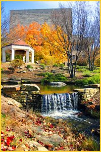 Where I'd wear my L.L. Bean: Strolling through campus on a sunny, fall day.  The Arboretum, Indiana University