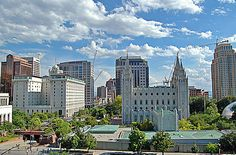 This photo from Utah, West is titled 'Temple Square'. Temple Square, Salt Lake City, See It, Vacation Ideas, Places Ive Been, Utah, North America, New York Skyline, United States