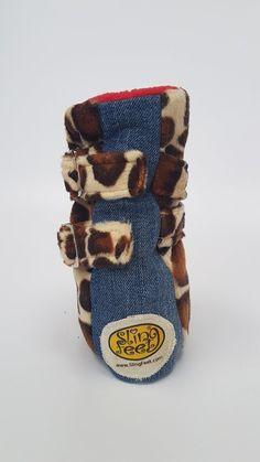 Sling Feet - Medium Giraffe