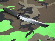 Cold Steel Magnum Tanto II Fixed 7.5 Inch CPM 3V Black DLC Blade (Kray-Ex Handle) Secure-Ex Sheath 13QMBII | OsoGrandeKnives