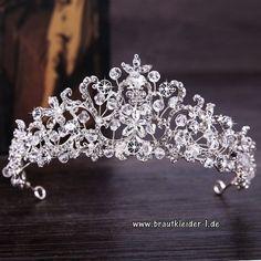 Tiaras & Haarreifen Braut-accessoires Fein Neu Braut Strass Krone Haarschmuck Tiara Diademe Hochzeit Kopfschmuck Weich Und Leicht