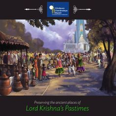 Chandrodaya Mandir will house many themed attractions depicting pastimes of Lord Krishna. Contribute -