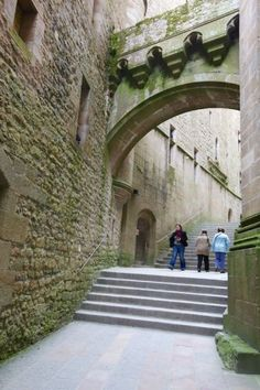 Monte Saint-Michel.